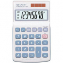 Sharp EL240SAB pocket calculator with twin power and decimal select 8 digit