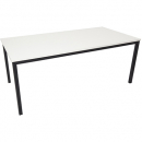 Rapidline steel frame table 1200 x 600mm white
