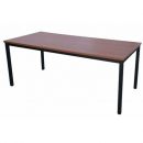 Rapidline steel frame table 1500 x 750mm cherry