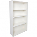 RAPID VIBE BOOKCASE 3 SHELF 900 X 315 X 1200MM WHITE