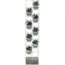 Rapidline rapid bloom vertical garden 1935 x 390 x 210mm white