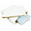 Cumberland expanda bag no 2 400 x 505 x 75mm white pack 5