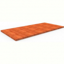 Rapidline table top 1200 x 600mm cherry