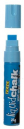 Texta jumbo liquid chalk markers wet wipe chisel 15mm blue