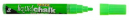 Texta liquid chalk markers wet wipe bullet 4.5mm green
