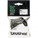 Brother m-k221 labelling tape 9mm black on white