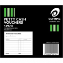 Olympic petty cash pads 50 leaf pack 5