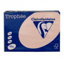 Trophee colours A4 copy paper 80gsm 500 sheet salmon