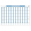 Upward laminated wall planner 690x470