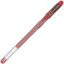 Uni-ball signo gel ink pen medium 0.7mm red