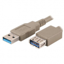 Cable usb2.0 extension male-female 5m