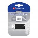Usb flash drive verbatim retractable 8gb