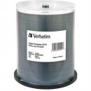 Verbatim cd-r 700mb 52x inkjet printable (spindle 100)