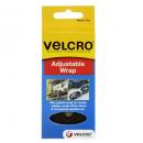 Velcro brand wrap adjustable 19mm x 3m black