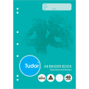 Binder book A4 64 page 8mm ruled