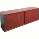 RAPID MANAGER CREDENZA LOCKABLE 1200 X 450MM APPLETREE/IRONSTONE