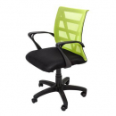 Vienna mesh chair medium back lime