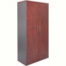Rapid manager cupboard lockable 1800 x 900 x 450mm appletree/ironstone