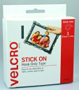 Velcro brand strip hook only 25mm x 3.6m
