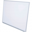 Rapidline wall mounted aluminium framed magnetic whiteboard 1500 x 900mm