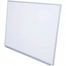 Rapidline wall mounted aluminium framed magnetic whiteboard 1800 x 900mm