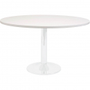Rapidline round table white dics base 1200mm white