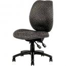 Ys design sabina task chair high back grey