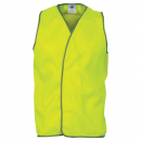 Zions daytime Hivis vest yellow extra large