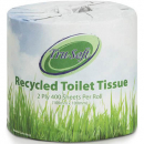 Tru soft individuallyt pack toilet tissue 2 ply recycled 400 sheets