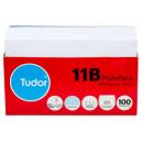 Tudor 11B Plain Envelopes peal n seal secretive 90 x 145mm white tray 100