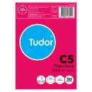 Tudor C5 plain envelopes peel n seal 229 x 162mm white pack 50