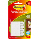 Command adhesive picture hanging strips 4 sets of small