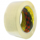 3m scotch 370 packaging tape general purpose 48mm x 75m clear pack of 6