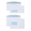 Cumberland DLX window envelopes self seal secretive 80gsm 120 x 235mm box 500