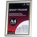 Manhattan snap frame A4 250 x 337 x 12mm silver