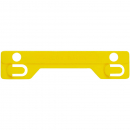 Avery 44008Y tubeclip compressor bar yellow pack 25