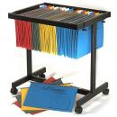 Acco data suspension file binder trolley