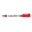 Artline 700 permanent marker fine bullet 0.7mm red