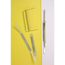 Crystalfile 2 piece paper fasteners box 50