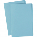 Avery manilla folder foolscap light blue box 100