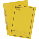 Avery 85404 spiral spring action file foolscap yellow box 25