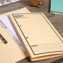Avery spring transfer file foolscap buff