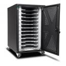 Kensington AC12 chromebook charging cabinet black