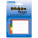 Beautone stick on index flags 14 x 76mm pack 400