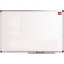 Nobo wall mounted aluminium framed magnetic whiteboard 450 x 600mm