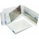 Bantex insert binder landscape A3 3 ring 38mm white