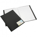Beautone display book fixed 20 pocket A3 black