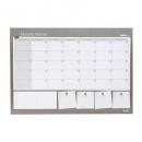 Bantex deskpad A2 undated monthly