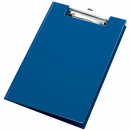 Bantex pvc clipfolder A4 blueberry