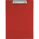 Bantex pvc clipfolder A4 red